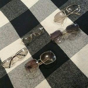 Grandma's Sunglasses 5 Pair Vintage